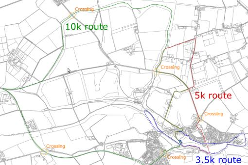 Click for a detailed route map of the Fun Run and info on taking part