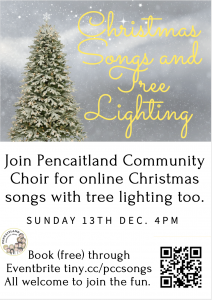 Christmas Songs and Tree Lighting