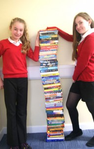 Pile of books & House Captains