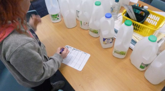 P5/6 Special Request for Milk Bottles