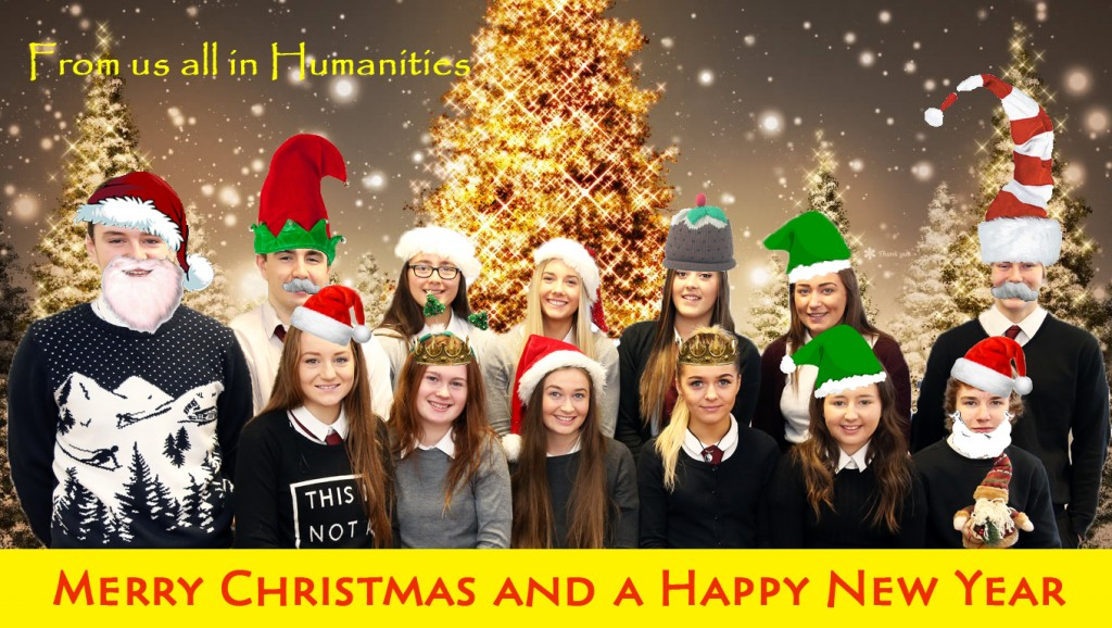Humanities Xmas Card