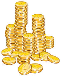 gold coins pic for 2000 club