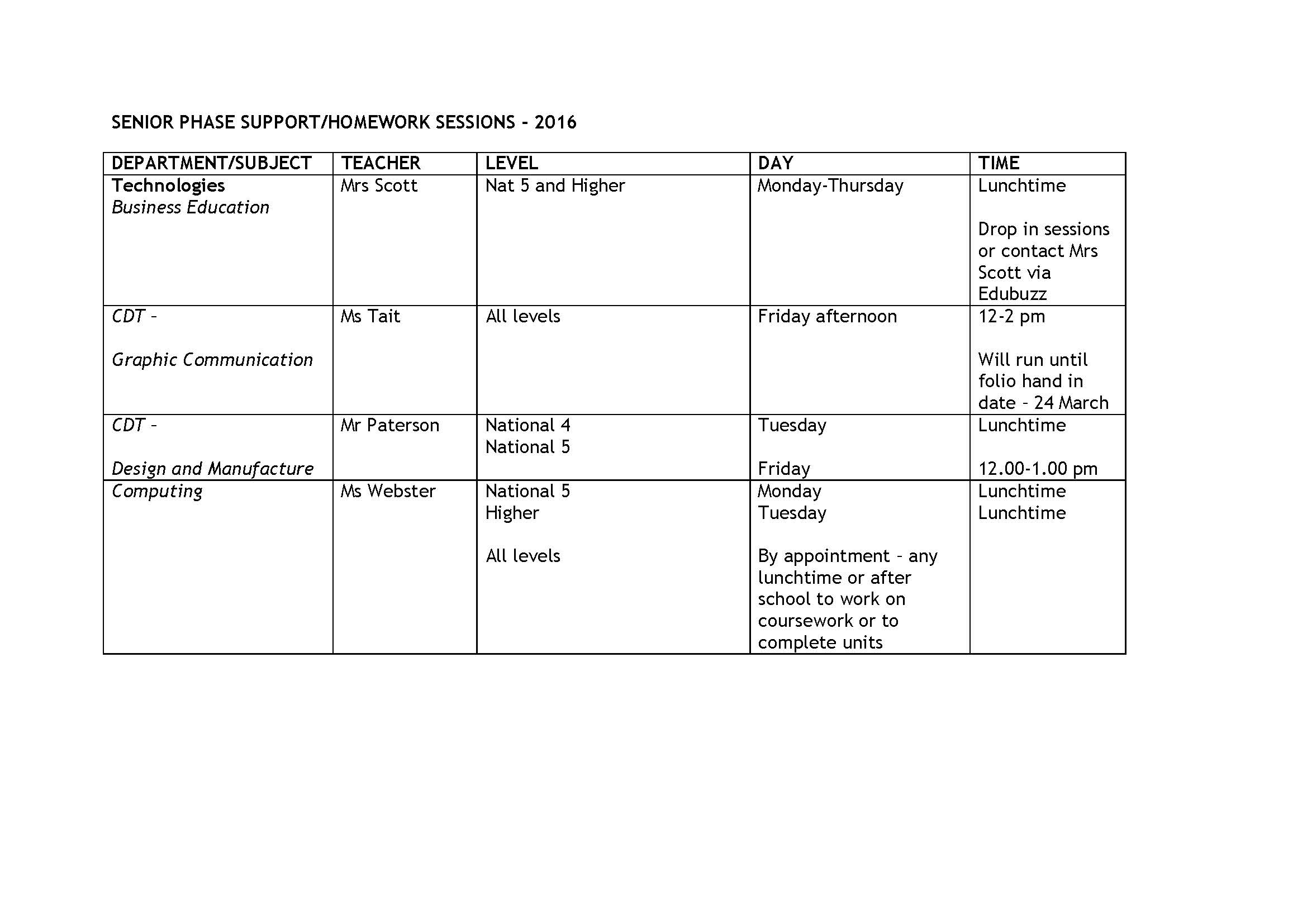 Senior phase study support sessions_Page_1