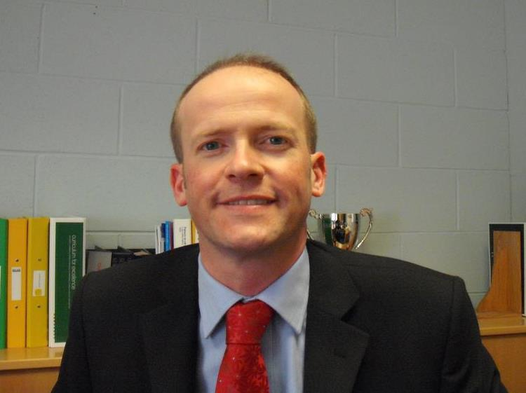 Gavin Clark, Headteacher, Preston Lodge High School