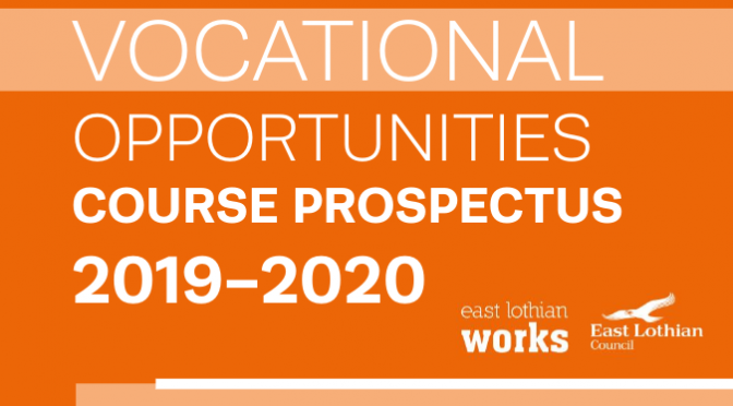Vocational Opportunities Course Prospectus 2019-2020