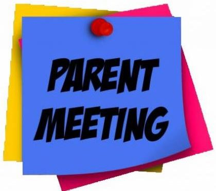 S2 Parents' Consultation Meeting – Monday 1 April 2019