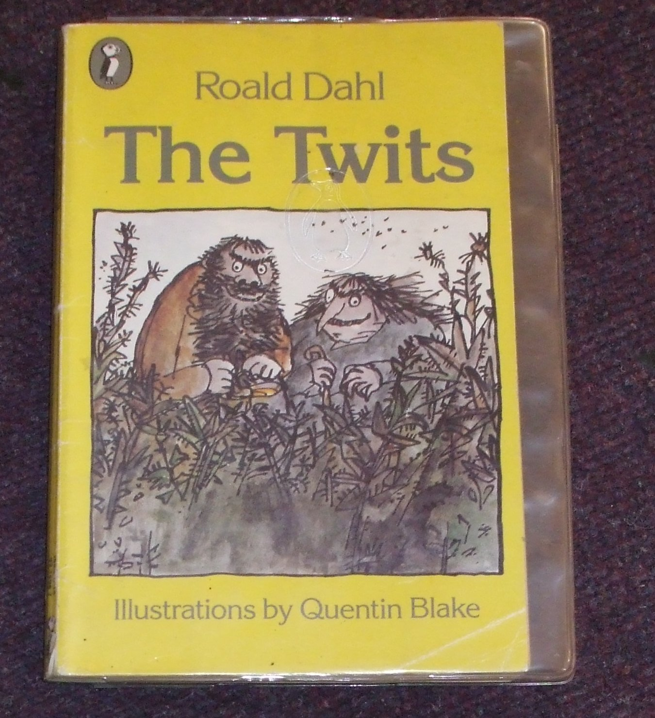the twits by roald dahl book report Roald dahl has such an unusual first name due to fact that his parents spelt his name wrong on the register of births from this non-literary background came one of the masters of children's literature the twits is one of his many successful and highly entertaining books the twits are a couple.