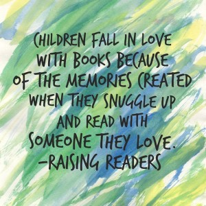 children fall raising readers quote