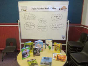 loretto rc non fic book drive mar 9