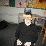Chris enjoying his 3D experience