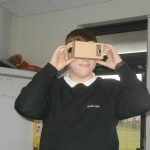 Scott enjoying his 3D experience