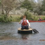 Scott in the coracle
