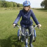Natasha cycling