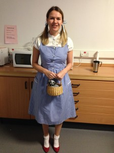Dorothy complete with Toto