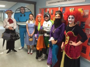 The English Department transformed for WBD 2015