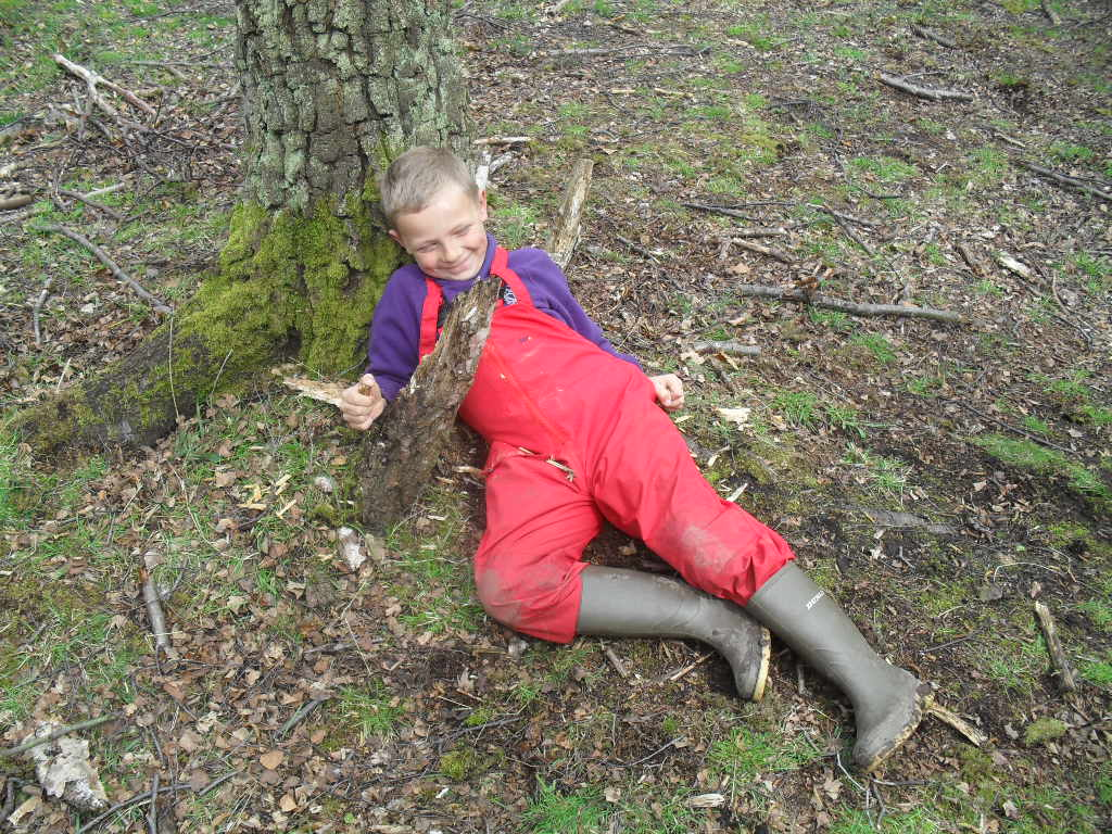 Forest schools p5w sanderson s wynd primary