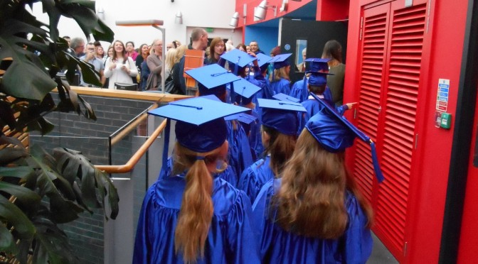 The first Queen Margaret Children's University Graduation – Friday 9th January 2015