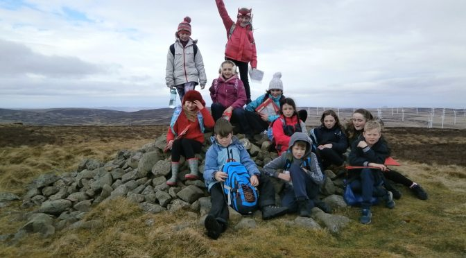 Hill Walking with Outdoor Education