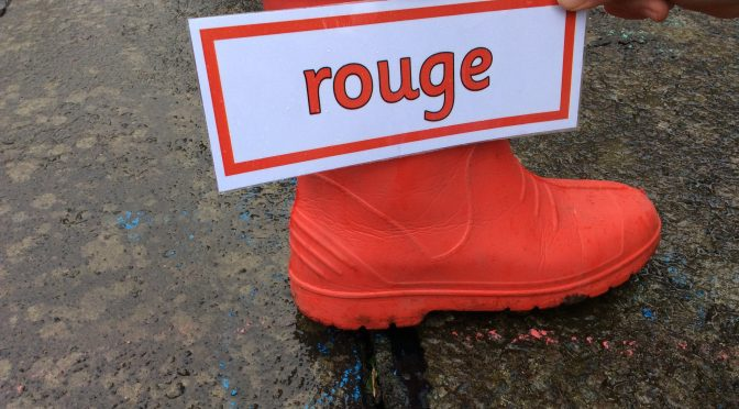 Outdoor French Treasure Hunt