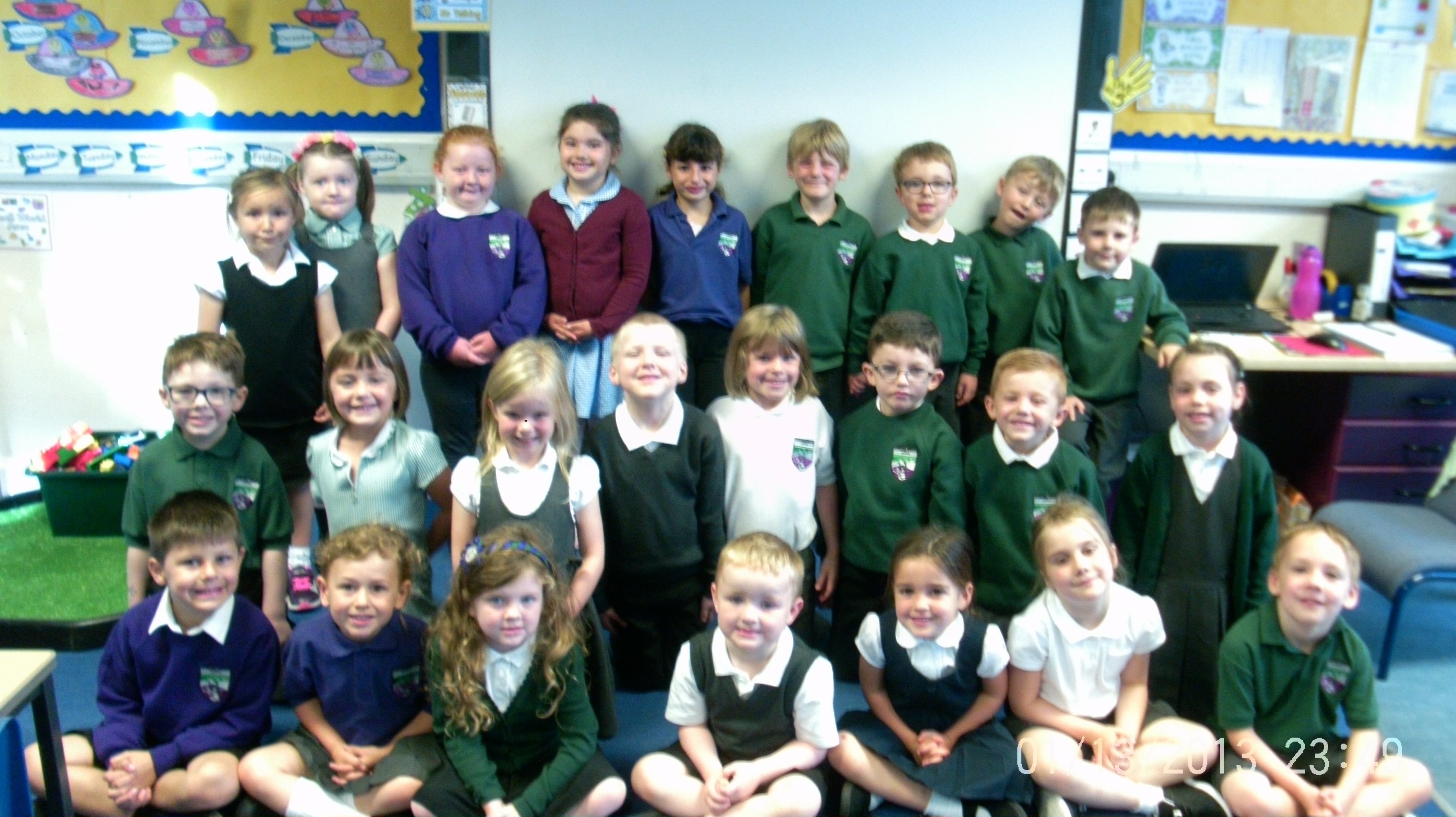 Our first week in Primary 1/2