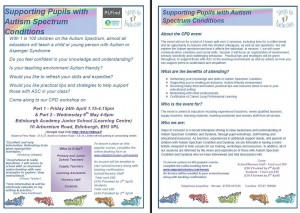 Supporting pupils with autism