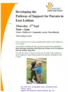 Developing the Pathway of Support Sept 15