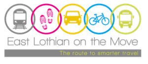East Lothian on the Move logo