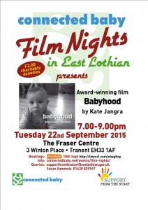 connected baby Film Nights