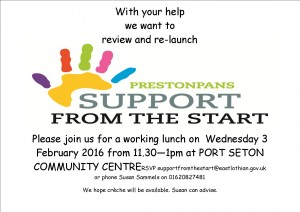 Review Prestonpans Support from the Startlandscape