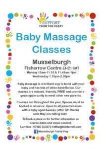 Baby Massage Fisherrow