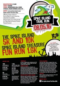 Spike Island trail run