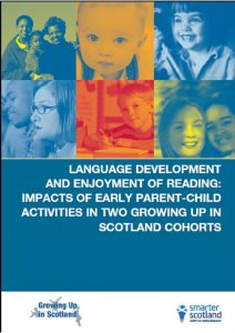 cover language development and enjoyment of reading