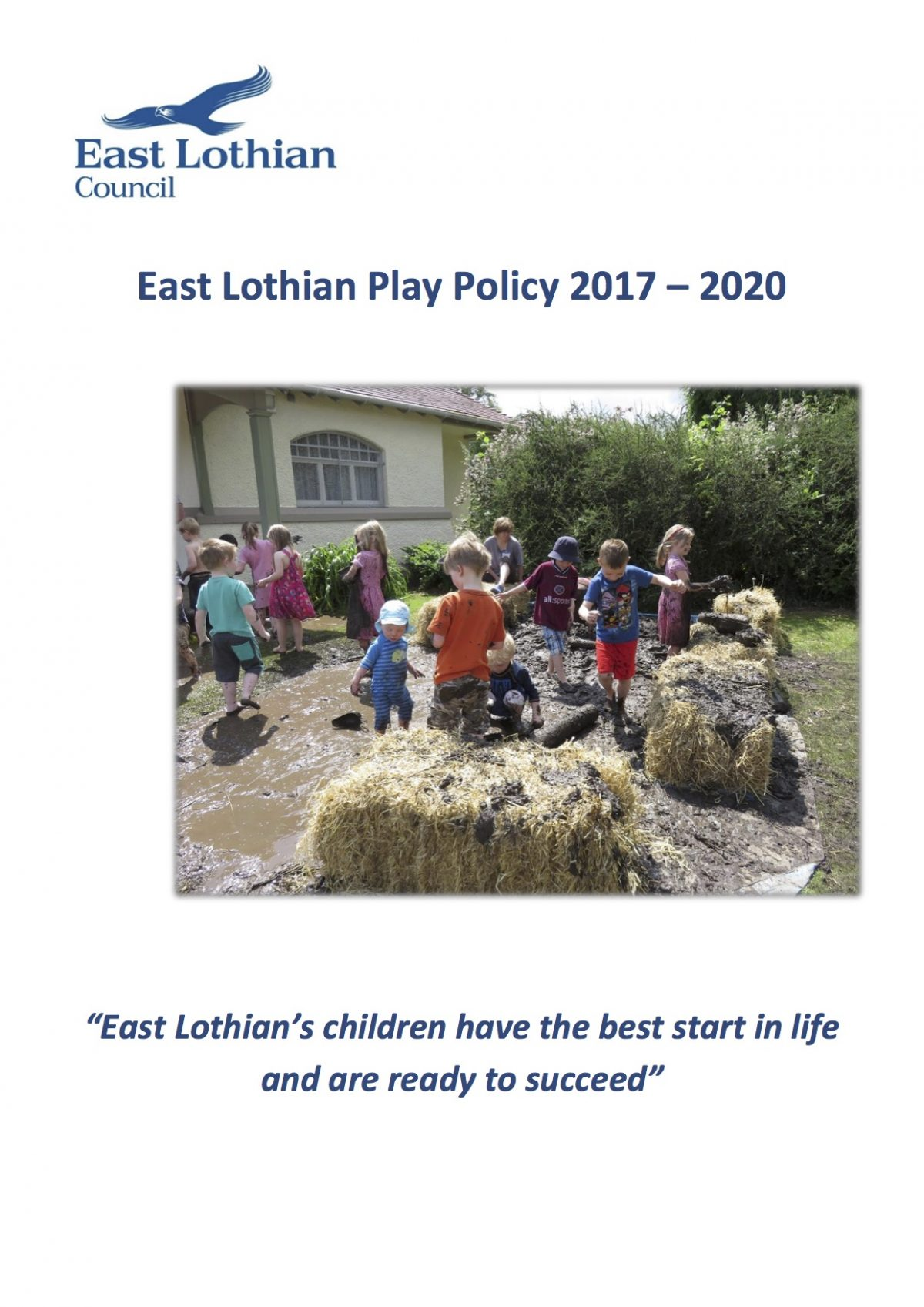East Lothian Play Policy 2017 – 2020