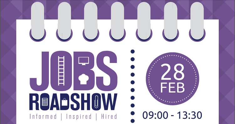 DYW Jobs Roadshow, North Berwick, 28th February 09:00 to 13:00