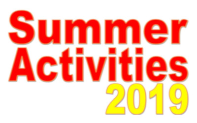 A summer of fun with arts activities for ages 5 – 18.