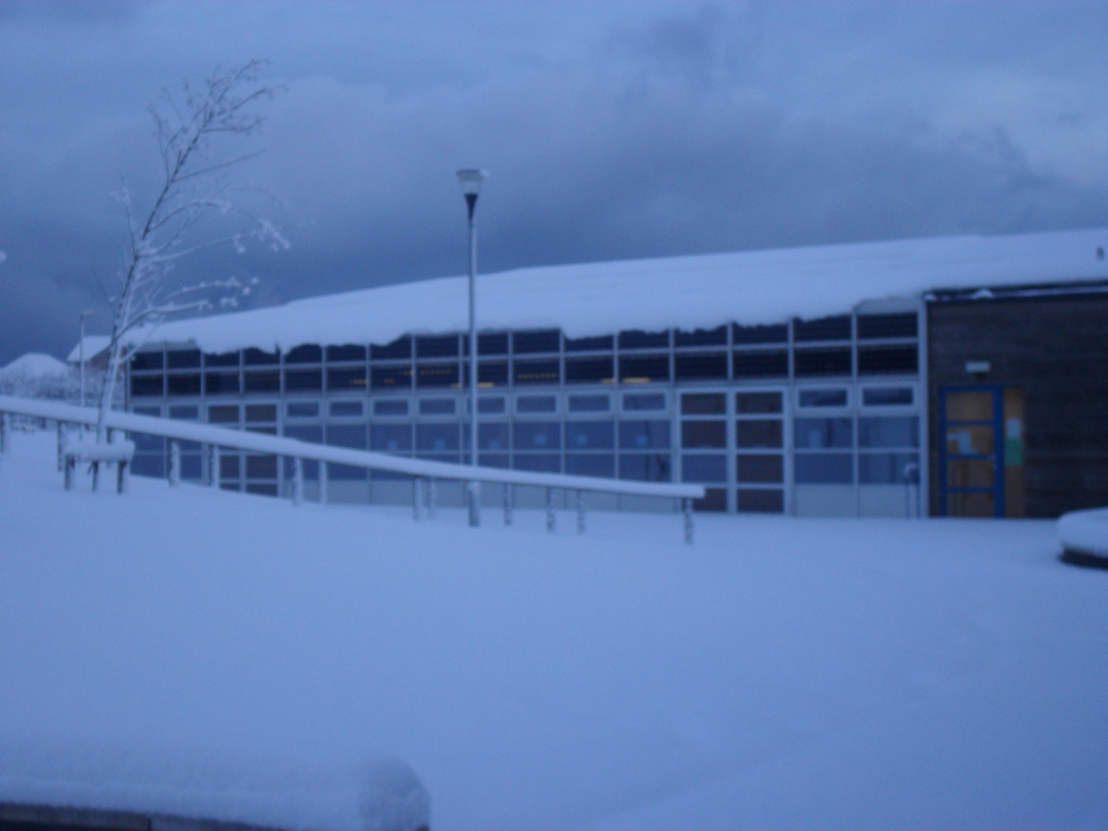 Snow At Windygoul Windygoul Primary School