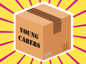 Clipart Package labelled Young Carers