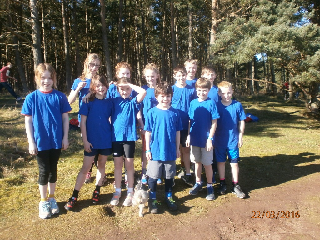 Yester Cross Country Team 2016