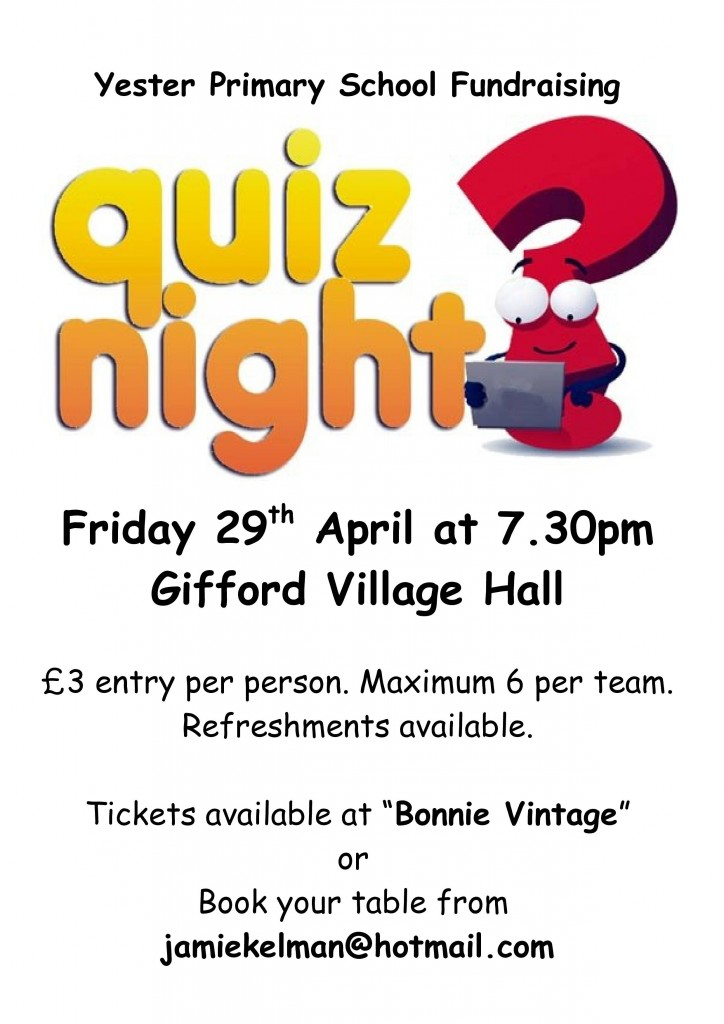 Yester Quiz Night 2016